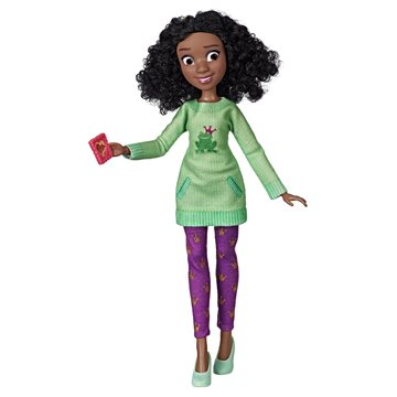 Disney Princess - Comfy Squad Doll - Tiana (E8403)