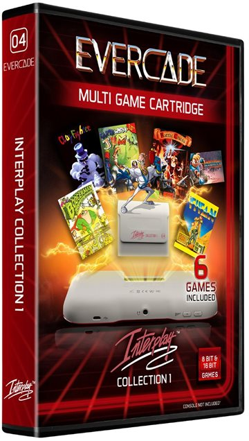 Blaze Evercade Interplay Cartridge 1