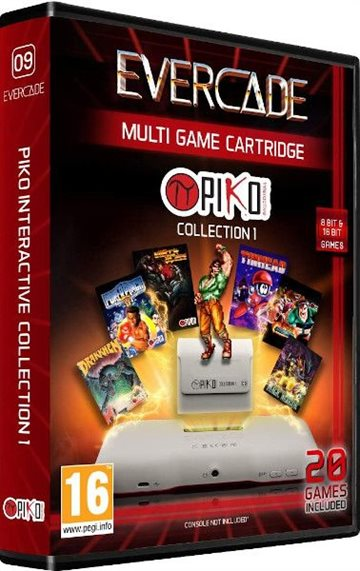 Blaze Evercade Piko Cart 1 EFIGS