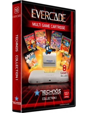 Blaze EverCade Technos Cartridge - EFIGS