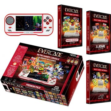 Blaze Evercade Premium Pack +3 Vol 1 White - EFIGS