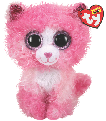 Ty Plush - Beanie Boos - Regan the Cat (Medium) (TY36479)