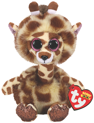 Ty Plush - Long Neck - Gertie the Giraffe  (Medium) (TY37402)