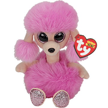 Ty Plush - Long Neck - Camilla the Poodle (Medium) (TY37403)