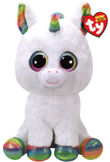 Ty Plush - Beanie Boos - Pixy the Unicorn (Large) (TY36859)