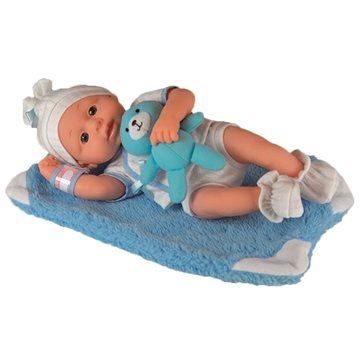 Happy Friend - New born Boy Soft Doll 30cm (504205)