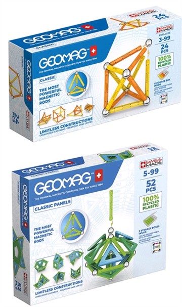 Geomag - Bundle Classic Panels Green (823)