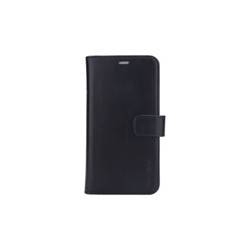 "Radicover - Radiationprotected Mobilewallet Leather iPhone 12 5,4"" 2in1 Magnetcover - Black"