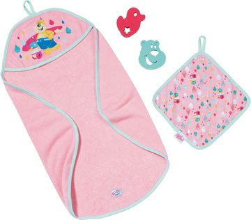 Baby Born - Bath Hooded Towel Set (827444)