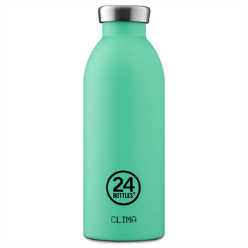 24 Bottles - Clima Bottle 0,5 L - Stone Finish - Mint (24B550)