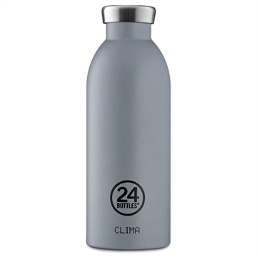 24 Bottles - Clima Bottle 0,5 L - Stone Finish - Formal Grey (24B552)