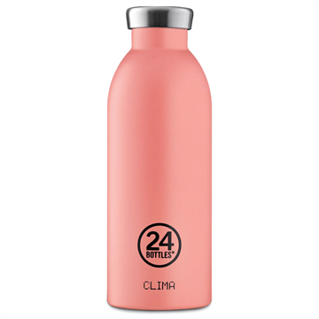 24 Bottles - Clima Bottle 0,5 L - Stone Finish - Blush Rose (24B530)