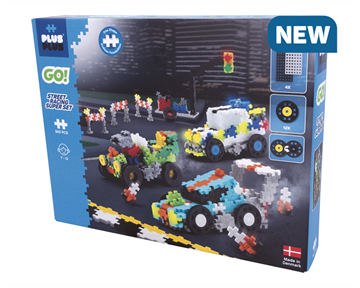 Plus-Plus Go - Streetracing Super Set (7010)