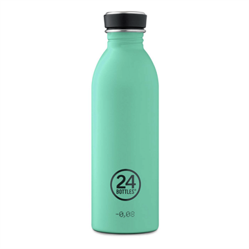 24 Bottles - Urban Bottle 0,5 L - Stone Finish - Mint (24B702)