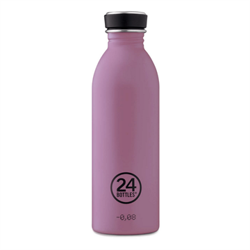 24 Bottles - Urban Bottle 0,5 L - Stone Finish - Mauve (24B703)