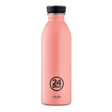 24 Bottles - Urban Bottle 0,5 L - Stone Finish - Blush Rose (24B705)