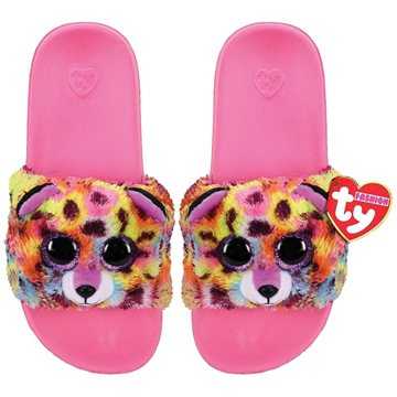 Ty Plush - Slides - Giselle the Leopardcorn (Size: 32-34) (TY95443)