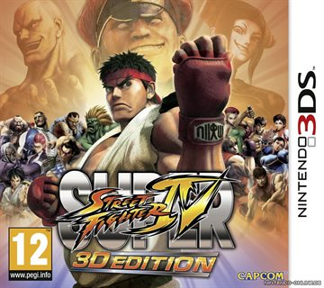 Super Street Fighter IV: 3D Edition (Italian Box - EFIGS In Game)
