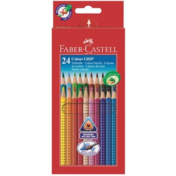 Faber-Castell - 24 Colour Grip 2001 färgpennor (112424)