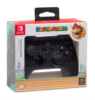 PowerA Wired Controller - Shadow Bowser