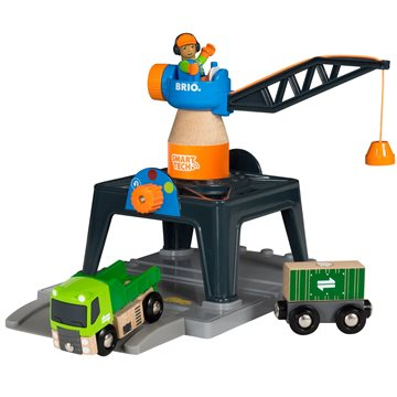 BRIO - Smart Tech - Containerkran (33962 )