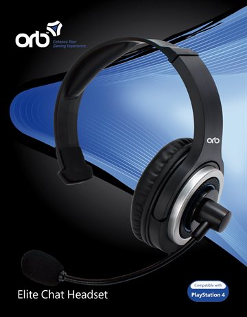 Playstation 4 - Elite Chat Headset (ORB)