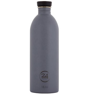 24 Bottles - Urban Bottle 1 L - Formal Grey