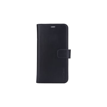 RadiCover - Radiationprotected Mobilewallet Leather iPhone 11 2in1 Magnetskal (3-led RFI ) - Black