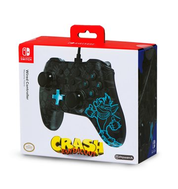 PowerA Wired Controller - Crash Bandicoot