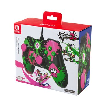 PowerA Wirec Controller - Splatoon