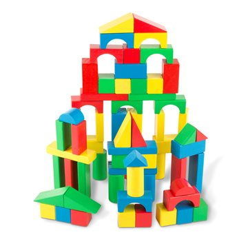 Melissa & Doug - Wood Blocks (10481)