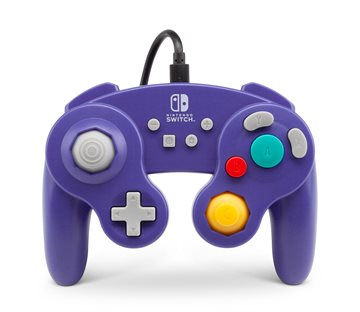 PowerA Controller Gamecube Style Purple