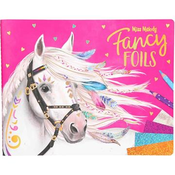 Miss Melody - Fancy Foils  Colouring Book (0410352)