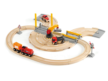 BRIO - Rail & Road Crane Set (33208)