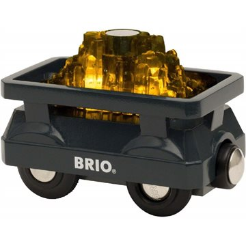 BRIO - Light Up Gold Wagon (33896)