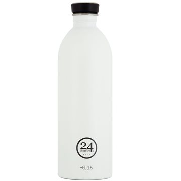 24 Bottles - Urban Bottle 1 L - Ice White
