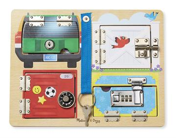 ​Melissa & Doug - Lock & Latch Board (19540)