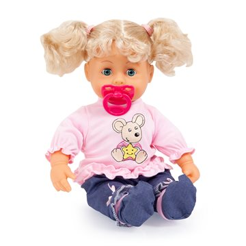 Bayer - Doll - Interactive Baby 38 cm - Blond (93813AA)