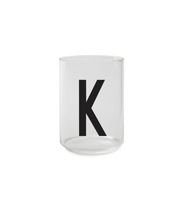 ​Design Letters - Personal Drinking Glass K