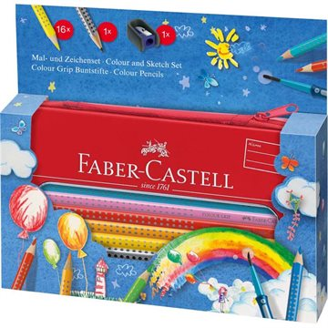 Faber-Castell - Colour GRIP Painting Set - Balloon (112450)