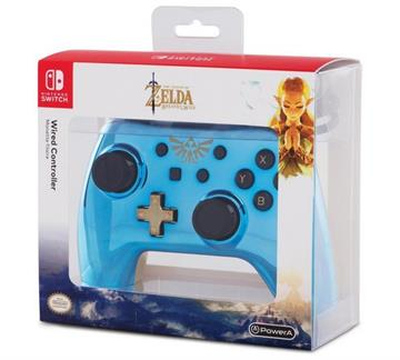 PowerA Controller Chrome - Blue Zelda