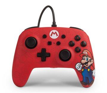 PowerA Wired Controller Mario