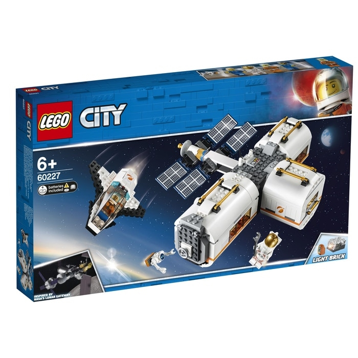 LEGO City Space Port 60227 Lunar Space Station