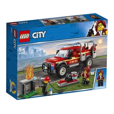 LEGO City Town 60231 Fire Chief Response Truck