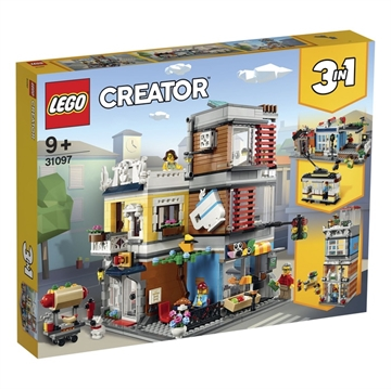 LEGO Creator 31097 Townhouse Pet Shop & Café