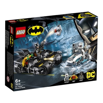 LEGO Super Heroes 76118 Mr. Freeze™ Batcycle™ Battle