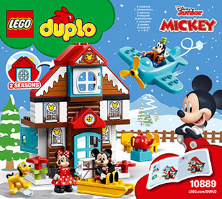 LEGO DUPLO Disney TM 10889 Mickey's Vacation House