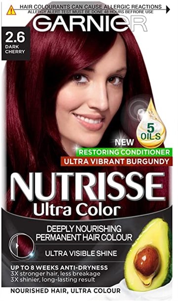 Garnier Nutrisse Cream 2.60 Red Black,140 ml