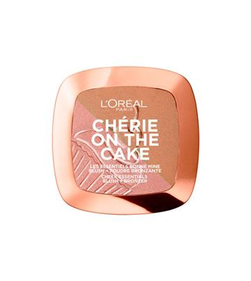 L'Oréal Paris Glam Bronze Duo Chérie On The Cake Blush & Bronzer 01 Cherry Fever