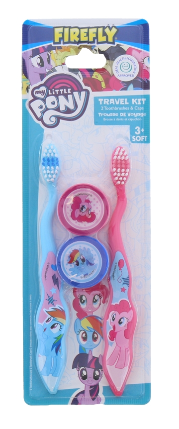 My Little Pony Tootbrush Twin Travel Caps